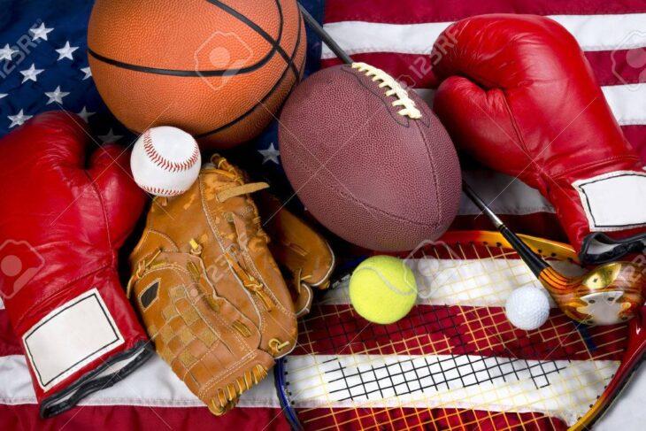 Baseball, hockey and tennis in the USA